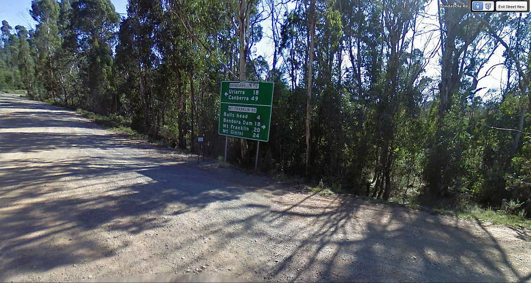 Tumut to Canberra Road